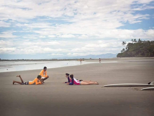 7 Days Yoga, Wushu, and Surf Camp in Playa Hermosa, North Puntarenas, Costa Rica
