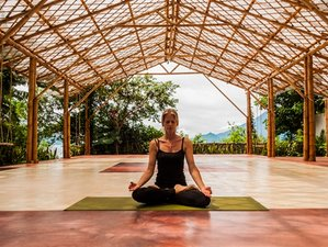 6 jours en retraite de yoga à Atitlan, Guatemala