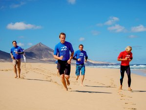 8 Days Budget Surf Camp for All Levels in a Beautiful Fishing Village, Morro Jable, Spain