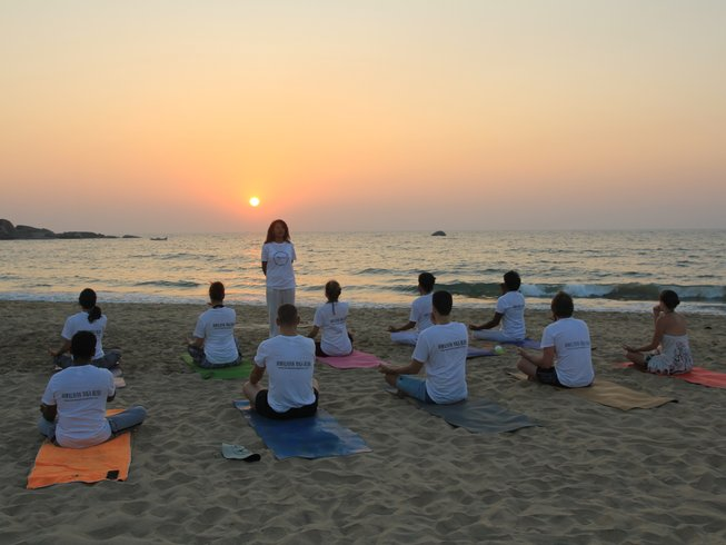 27 Days 200-Hour Intensive Yoga Teacher Training in Goa, India