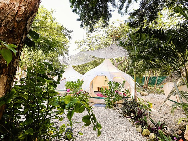 7 Days Glamping Meditation and Yoga Retreat in Mexico