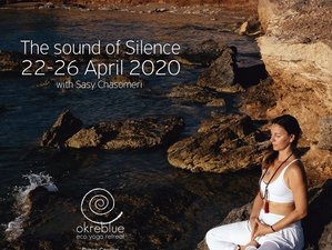 5 Days The Sound of Silence Meditation and Yoga Retreat with Sasy Chasomery in Paros, Greece