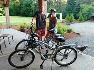 2 Days Glamping and Cycling Holiday in Oregon, USA
