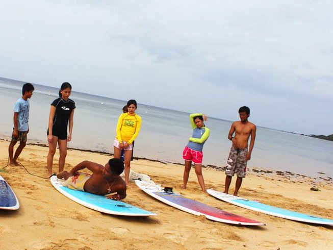 2 Days Beginner Surf Camp in Catanduanes, Philippines