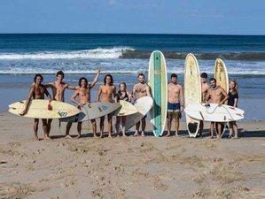 8 días de yoga y campamento de surf en Tamarindo, Guanacaste