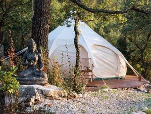 8 Tage Yoga Enjoy & Relax Sommer Retreat zwischen Bäumen und Wäldern in Messini, Messenien