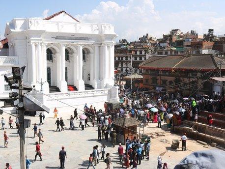 Durbar-plein van Kathmandu