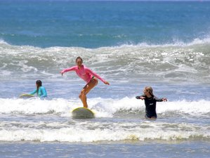 8 Day Surf Lessons Package in Nosara, Guanacaste