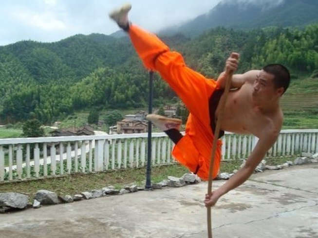 1 Month of Traditional Kung Fu in Dali City, China