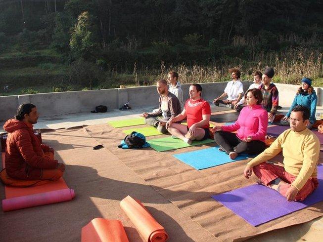 3 jours en stage de yoga et pranayama à Kathmandu, Népal