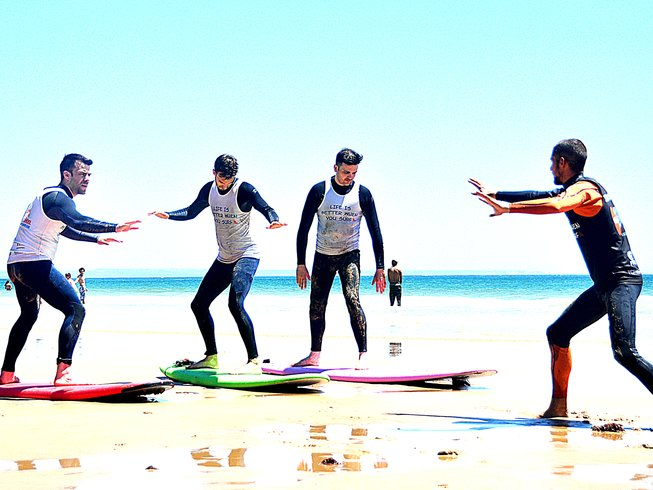 7 Days Surf Camp in Alcabideche, Cascais, Portugal