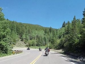 8 Day Loop Self-Guided Motorcycle Tour of the Mountain Giants in Colorado