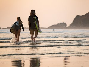 11 Day Surf Lessons Package in Nosara, Guanacaste Province