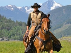 7 Days Grizzly and Black Bear Tracking on Horseback in British Columbia, Canada