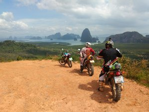 5 Days Training Camp Facility and Guided Rally Motorcycle Tour from Phuket to Phang Nga, Thailand