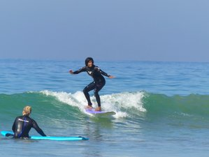8 Day Yoga and Surf Holiday in Tamraght, Souss-Massa