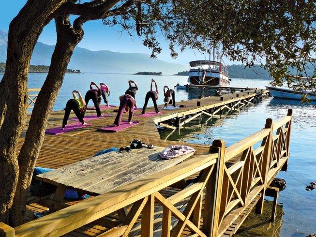 8 jours en stage de yoga et voile en Grèce et en Turquie