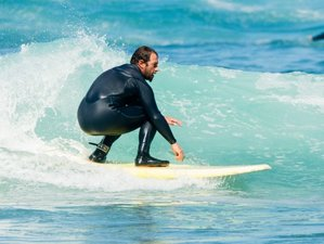 7 Day Intensive Surf Coaching for All Levels in Ericeira, Lisboa