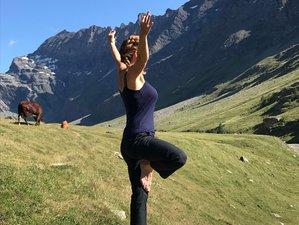 6 jours en stage de yoga et écriture pour femmes pour se ressourcer en montagne à Bessans, Savoie