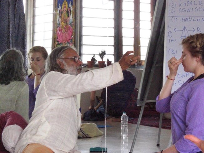 6 Days Pranayama Immersion with Guru Ji in Rishikesh