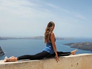 8 Day Mindfulness, Adventure, and Yoga Retreat in Santorini