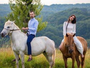 3 Days Countryside Horse Riding Holiday in Zubra Village, Ukraine