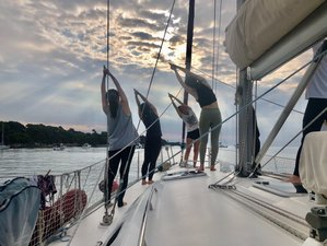 3 Day Yoga Sailing Holiday along the French Riviera in Lerins Islands