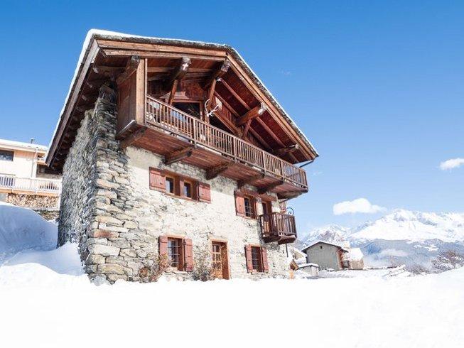 8 Days Deep House Ski Yoga Retreat in France