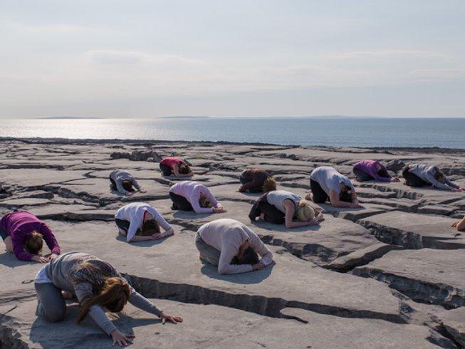 7 jours en stage d'hatha yoga et méditation dans le comté de Galway, Irlande