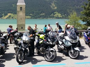 9 Day Guided Motorcycle Tour in the Alps and the Dolomites including the Stelvio, Italy
