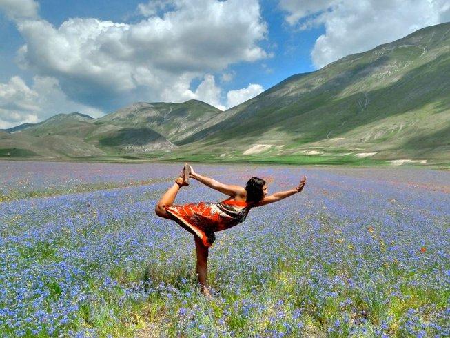 7 Tage All Inclusive Yoga Urlaub in Perugia, Italien