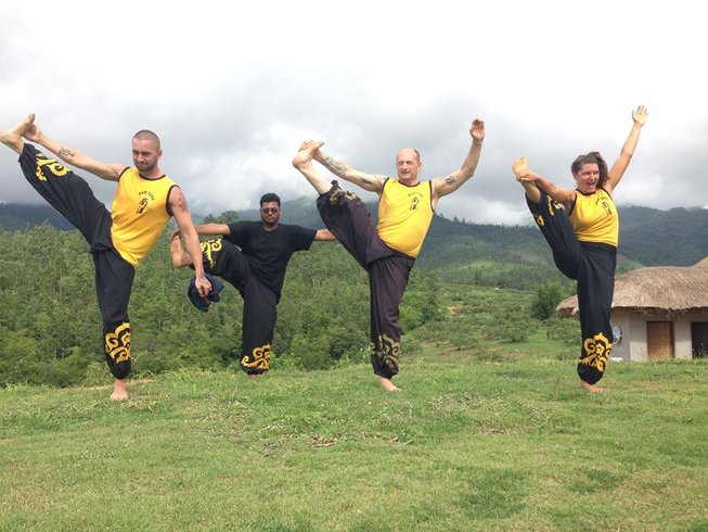 3 Months The Shaolin Warrior Kung Fu Training Thailand