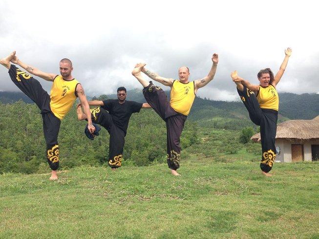 91 Days Shaolin Warrior Kung Fu Training in Mae Hong Son, Thailand