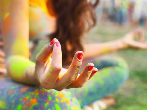 4 Tage Yoga und Intuitives Malen Retreat mit Isabel Einsiedl im Erzgebirge