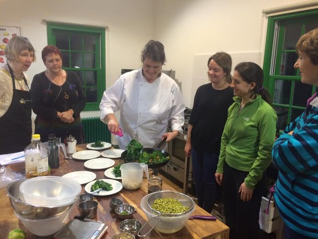 3 Days Vegetarian Cooking Holidays in England