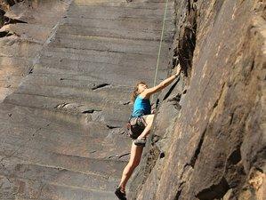8 jours en stage de yoga et escalade sur l'île de Grande Canarie, Espagne