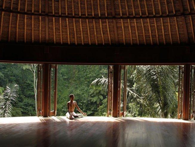 7 Days Transformational Journey Meditation and Yoga Retreat Ubud, Bali with Briana Evigan