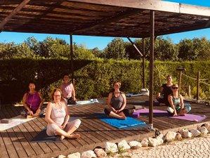 8 Tage Yin Yoga Retreat mit Simone und Barbara in Salema, Portugal