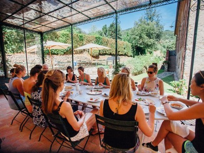 7 Days Yoga and Cooking Holiday in Italy