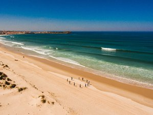 8 Days Yoga and Surf Retreat in Columbeira, Portugal