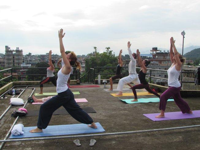 35 Days 300-Hour Yoga Teacher Training in Rishikesh, India