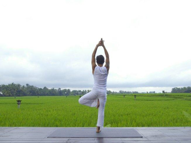 5 días retiro de yoga y ciclismo en Ubud, Bali
