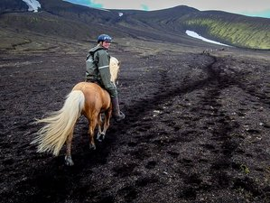 9 Day Landmannalaugar Horseback Riding Tour in South Iceland