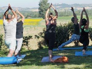7 jours en stage de yoga kundalini, yin yoga et repas ayurvédiques dans le sud de la France