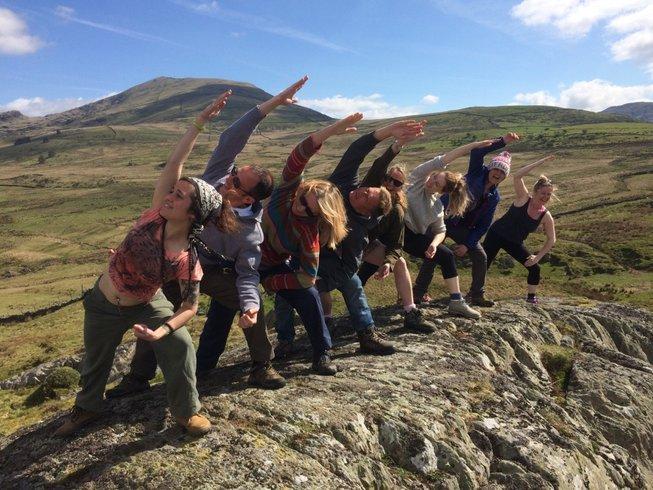 3 jours en stage de yoga et marches guidées à Snowdonia, Grande-Bretagne