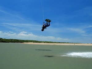 6 Days Semi Private Kite Surf Camp in Icairazinho, Brazil