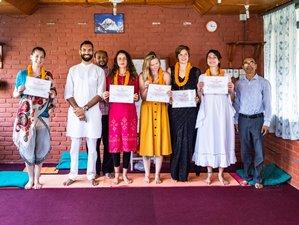 24 Days Immersive 200-Hour Yoga Teacher Training in Stunning Pokhara, Nepal