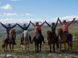 7 Days The Norwegian Mountains Horse Riding Holiday in Oppland, Norway