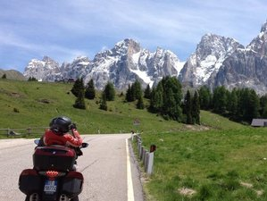 5 Day Short Guided Motorcycle Tour in The Dolomites, South Tyrol