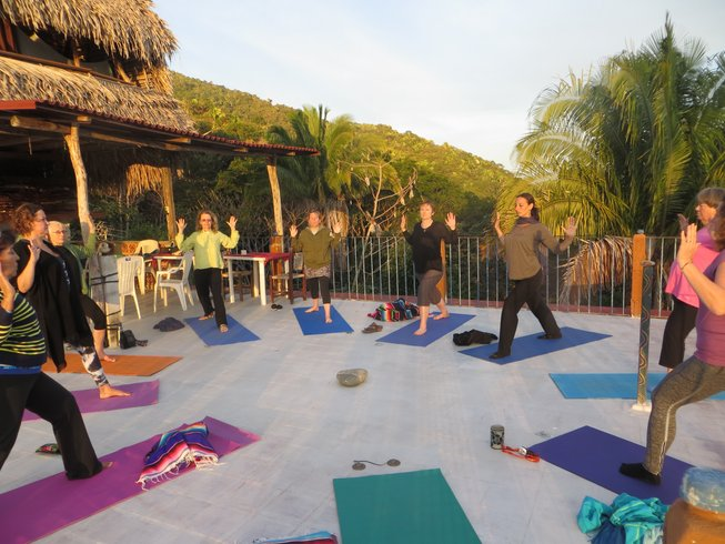 9 días retiro de yoga, senderismo y meditación en Yelapa, México